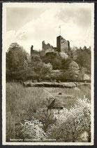AK Deutsches Reich, postal gelaufen 1941, Badenweiler, Schlossruine   31/16