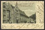 AK Deutsches Reich 1900 Gruss aus Freiburg i.Br. Rathaus 8/41