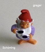 die Badezimmerzwerge von 1991  - Schönling  - ohbe BPZ  -  6x