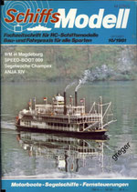Schiffsmodell 10/81 c