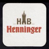 Bierdeckel -Henninger  28
