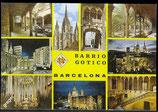 AK Barcelona, Mehrbildkarte    58/25