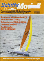 Schiffsmodell 11/85 c  abl