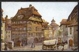 AK Deutsches Reich, Gemäldekarte das Dürerhaus in Nürnberg   41e