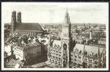 AK Deutsches Reich 1929 München Rathaus und Frauenkirche  11/45