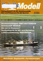 Schiffsmodell 12/83 e  abl