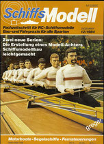Schiffsmodell 12/84 a