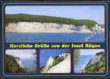 AK Insel Rügen Mehrbildkarte   v 43