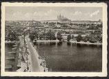 AK Prag, Karlsbrücke und Hradschin   36/29
