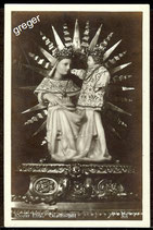 AK Kleinformat, Kloster Ettal, Gnadenbild    74/10