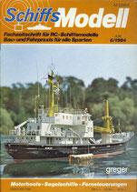 Schiffsmodell 6/84 d  abl