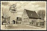 AK Dinkelsbühl – Nördlinger Tor mit Stadtmühle    4/41