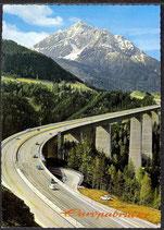 AK Europabrücke bei Schönberg Blick gegen Serles  29/35