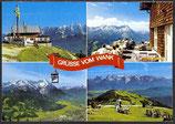 AK Garmisch Partenkirchen Grüsse vom Wank, Mehrbildkarte   16/2