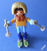 Bei den Eskimos von 1994  -  Schneewanderer   18x