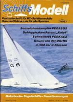 Schiffsmodell 7/87 a