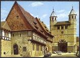 AK Bad Gandersheim Marktplatz mit Stiftskirche   18/9 gel