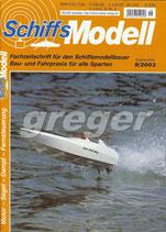 Schiffsmodell 9/03 b