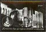 AK Avignon, Le Palais des Papes illuminé    I6-o