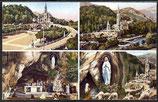 AK Lourdes Mehrbildkarte    42/33