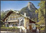 AK Oberammergau, Rotkäppchen-Haus und Kofel    97p