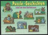 Puzzle Geschichten rund um den Gartenzaun von 1998   heimliche Liebeserklärung   637 122 - 1x