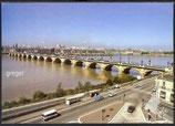 AK Bordeaux. Le Pont de Pierre sur la Garonne    61m