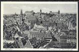 AK Nürnberg Panorama von der Lorenzkirche 11/50
