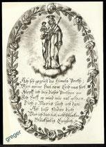 AK Bild in der Sterbezelle des hl. Bruders Konrad  62/14