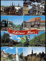 AK Mehrbildkarte vom Harz    69/40