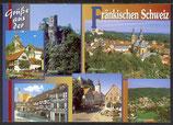 AK Grüße aus der Fränkischen Schweiz, Mehrbildkarte    21/19