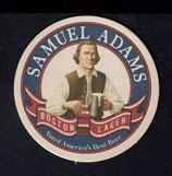 Bierdeckel -  Samuel Adams Boston Lager   10