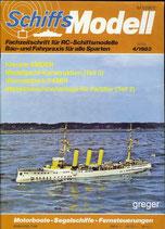 Schiffsmodell 4/83 e  abl