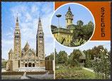 AK Szeged, Mehrbildkarte    u 13