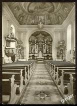AK Pfarrkirche in Mönchberg, Spessart   75/14