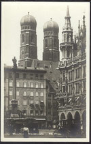 AK München, Marienplatz (1923)    4/32