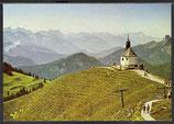 AK Wallbergbahn Rottach-Egern, Wallberg Kapelle   38/9