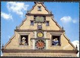 AK Rothenburg ob der Tauber, alte Kunstuhr am Marktplatz    36/17