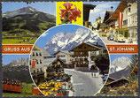 AK Gruss aus St. Johann, Mehrbildkarte     54/33