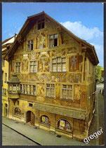 AK Schaffhausen Haus zum Ritter    z4