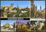 AK Veszprém Megye Mehrtsildkarte    r- 28