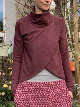 Froeken Frida Sweaty Shirt Ive BIO, weinrot