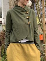Froeken Frida Sweaty-Jacke oliv