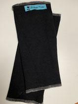 Froeken Frida Jersey Stulpen/Pulswärmer, BIO schwarz