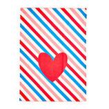 Geschirrtuch Candy Stripes 50x70 cm