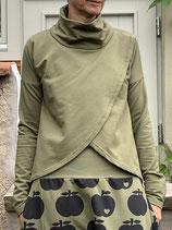 Froeken Frida Sweaty Shirt Sweaty, BIO, oliv