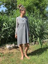 Froeken Frida Sweaty Schürzenkleid grau