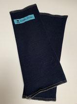 Froeken Frida Jersey Stulpen/Pulswärmer, BIO dunkelblau