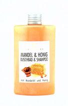 Mandel & Honig Duschbad & Shampoo, 200ml