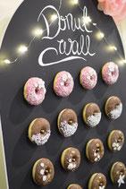 Donut Wall, die Alternative zur Candybar
